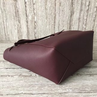 240935b0b61 You re viewing  Best Celine Small Cabas Phantom Bag With Belt In Bordeaux  Leather Denver