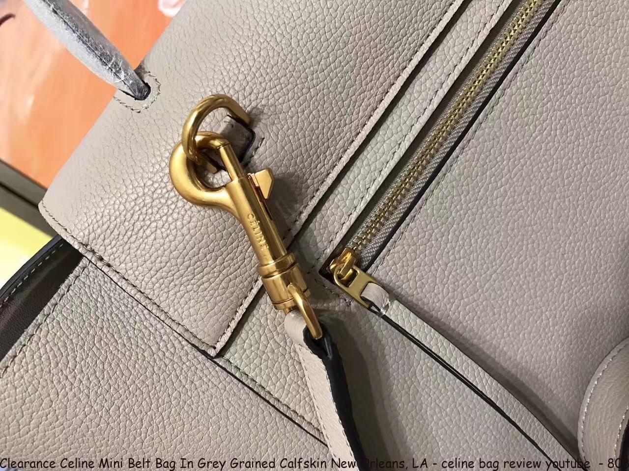 2302802cd8d Clearance Celine Mini Belt Bag In Grey Grained Calfskin New Orleans ...