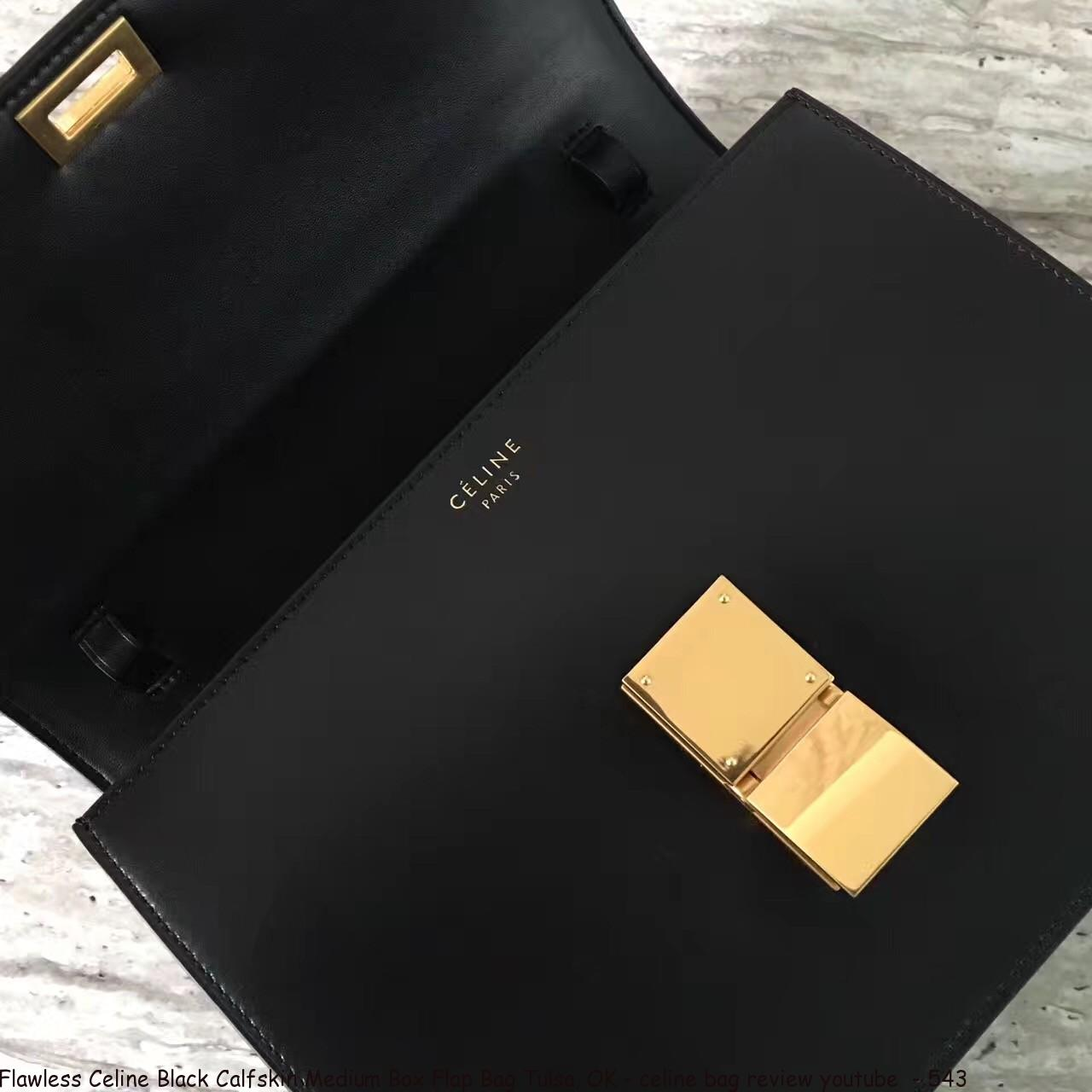 Flawless Celine Black Calfskin Medium