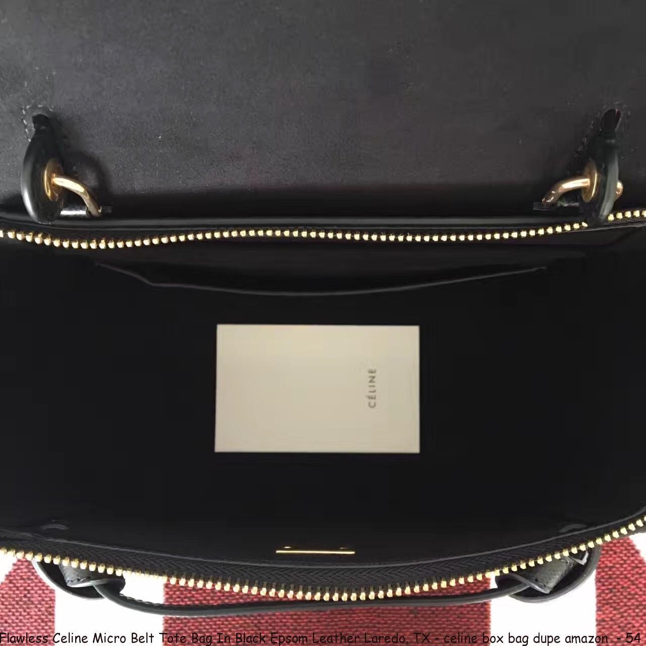 Flawless Celine Micro Belt Tote Bag In Black Epsom Leather Laredo Tx Celine Box Bag Dupe Amazon 54 Cheap Replica Celine Handbags 70 Off