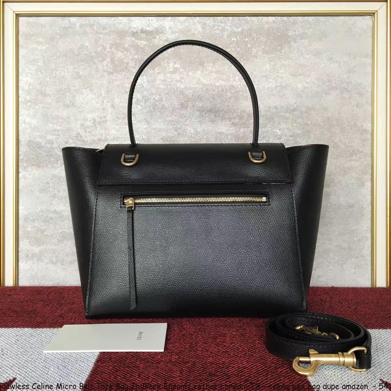 Flawless Celine Micro Belt Tote Bag In Black Epsom Leather Laredo Tx Celine Box Bag Dupe Amazon 54 Cheap Replica Celine Handbags 70 Off