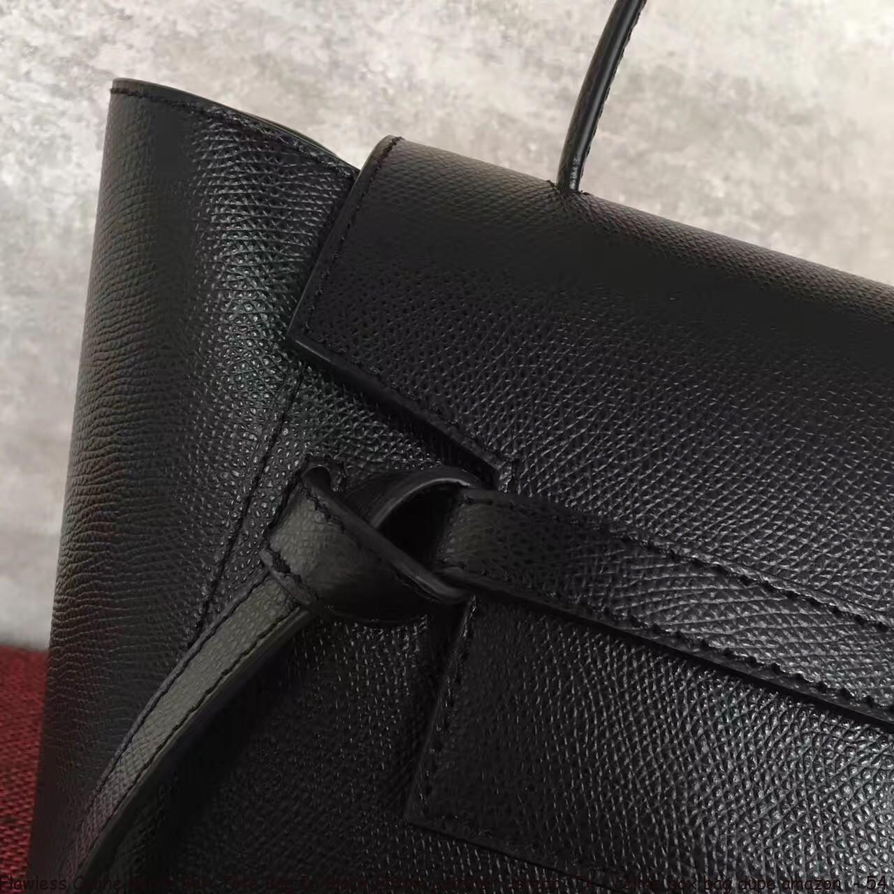 3a28693c06dd Flawless Celine Micro Belt Tote Bag In Black Epsom Leather Laredo ...