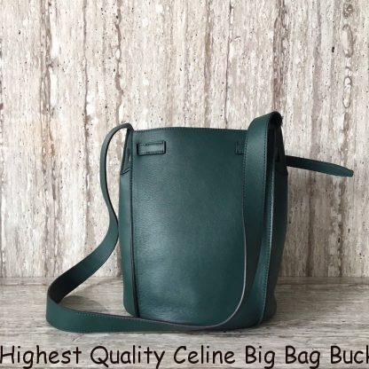 6e765b53607 Highest Quality Celine Big Bag Bucket In Green Bare Calfskin Stockton, CA -  celine belt bag which size - 1621