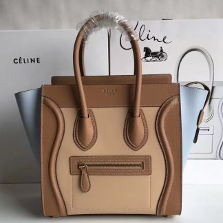 You Re Viewing The Best Celine Multicolour Micro Luggage Bag In Mineral Calfskin Washington Dc Size Guide 1361 164 43